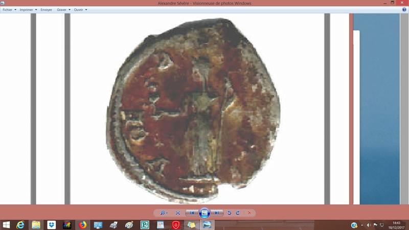 Alexandre Sévère revers avec S à lenvers Alexan11