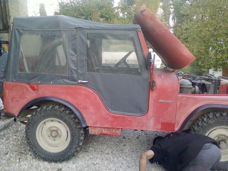 restauration de notre CJ5 1955 Jeep_a13