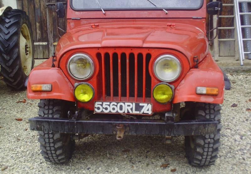 restauration de notre CJ5 1955 Jeep_a14