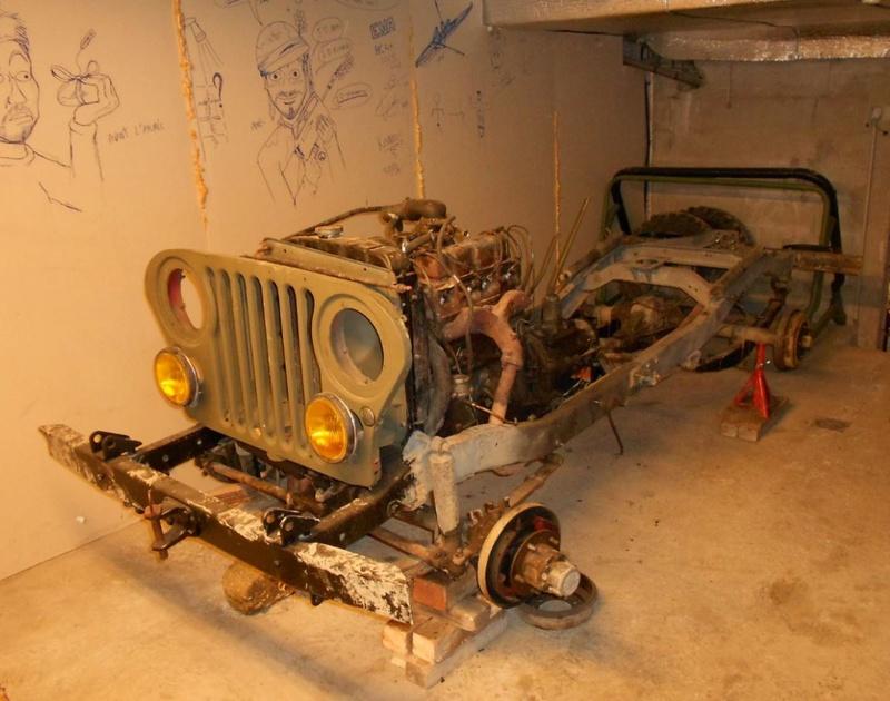 restauration de notre CJ5 1955 Jeep_r12