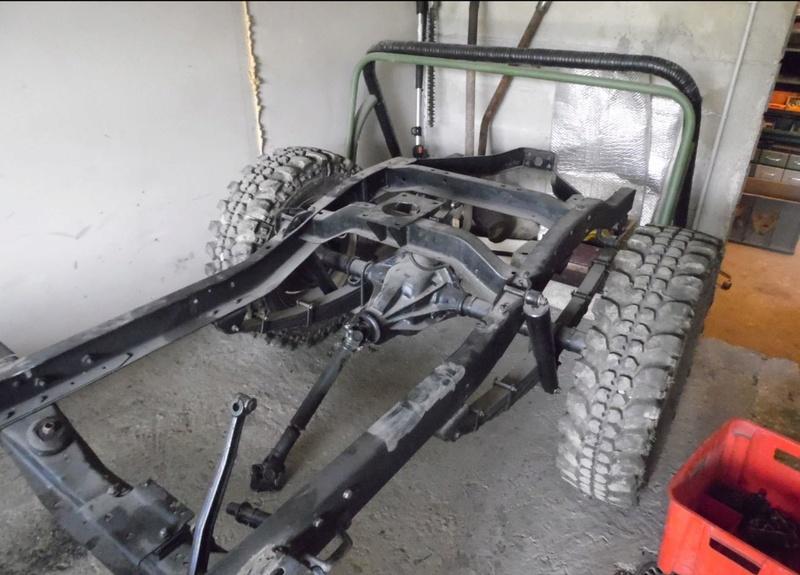 restauration de notre CJ5 1955 Jeep_r18