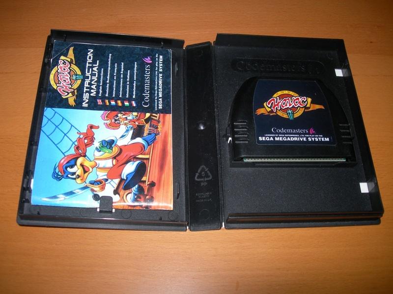 [VDS] Pirates of Dark Water, Havoc, Zero the Kamikaze Squirrel (Megadrive) Dscn3429