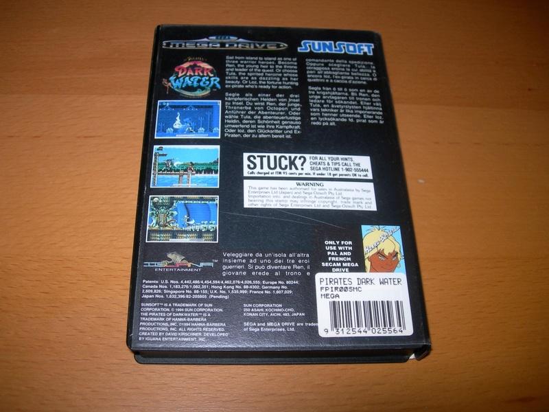 [VDS] Pirates of Dark Water, Havoc, Zero the Kamikaze Squirrel (Megadrive) Dscn3441