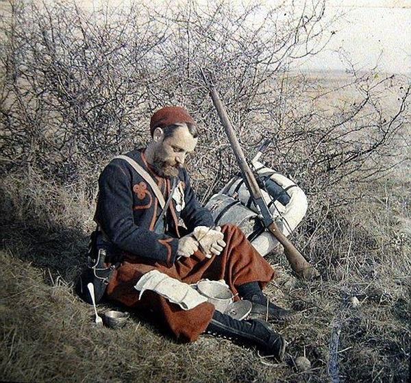Un zouave tireur de première classe et premier prix de tir.  171010