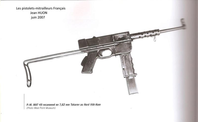 M.A.T.49 Copies Vietnamiennes en calibre 7,62 Tokarev ???? 76210