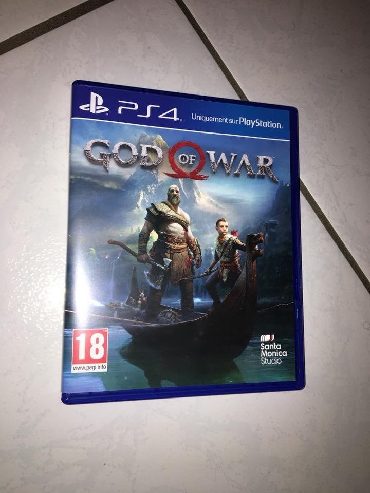 Vends God Of War PS4 : 45 euros 31891010
