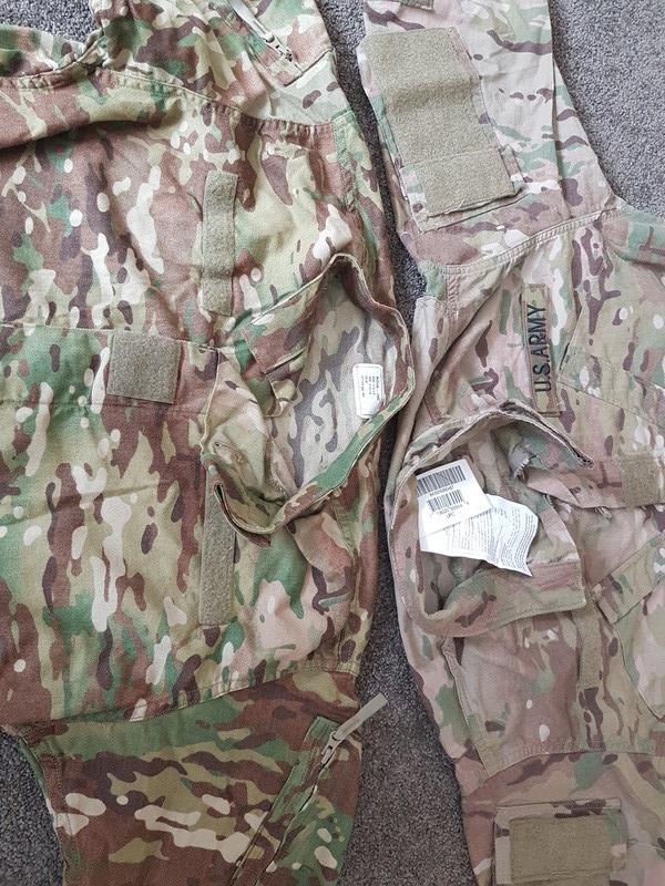 US Army Jungle trial uniform  20171211