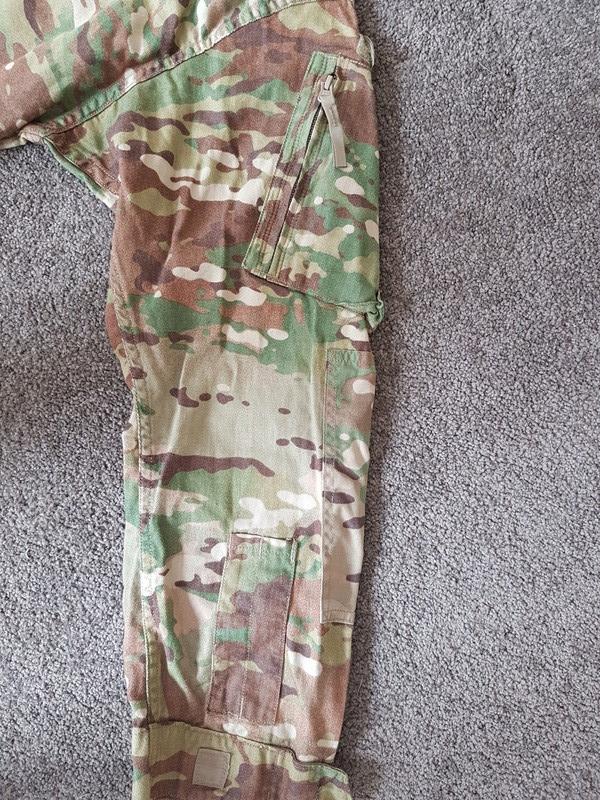 US Army Jungle trial uniform  20171212
