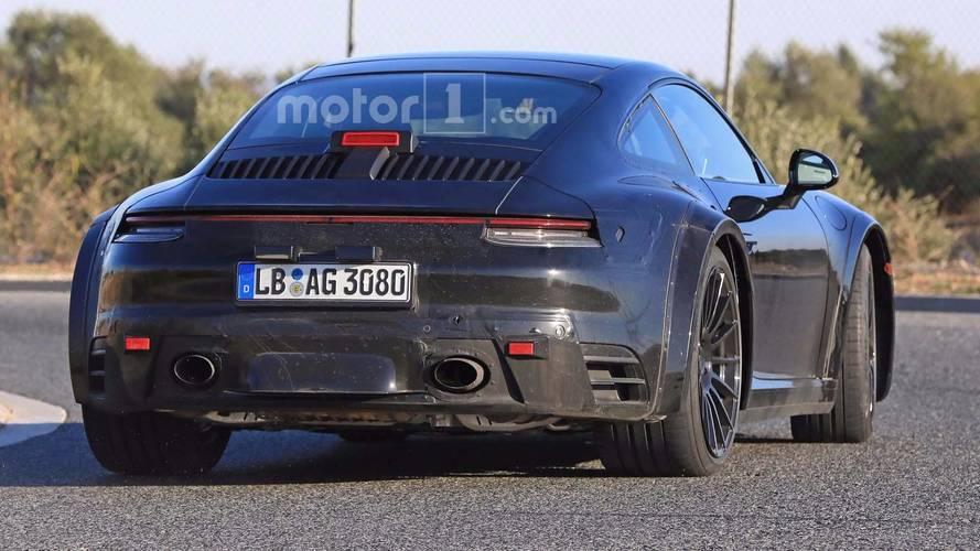 Porsche 911 type 992 première photo 2019-p10