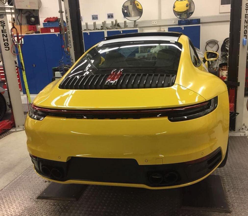 Porsche 911 type 992 première photo Captur28