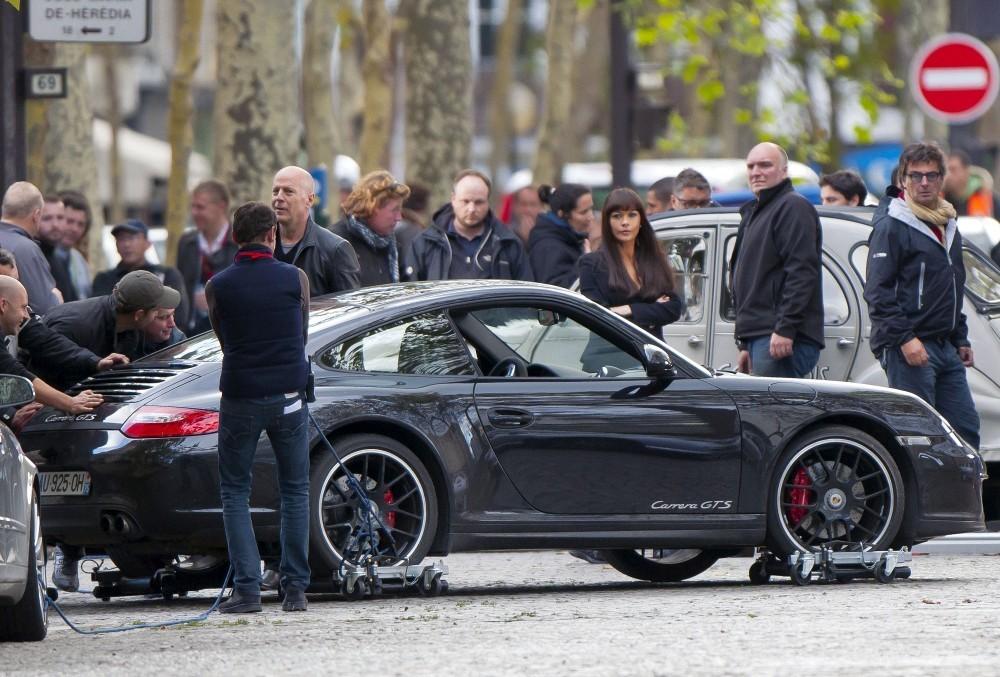 Les stars et les Porsche Red2fi10