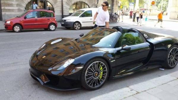 Les stars et les Porsche Zlatan10
