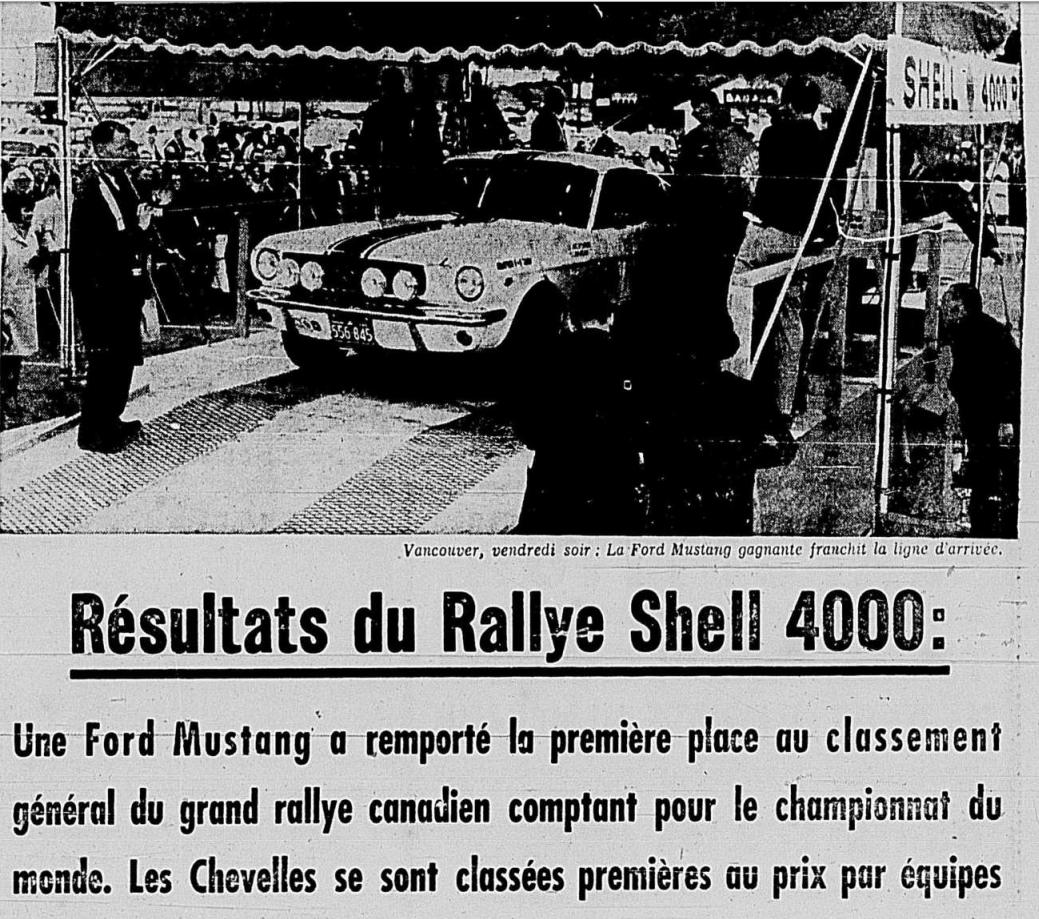 Mustang gagnante du rallye Shell 4000 de 1965 1965_010