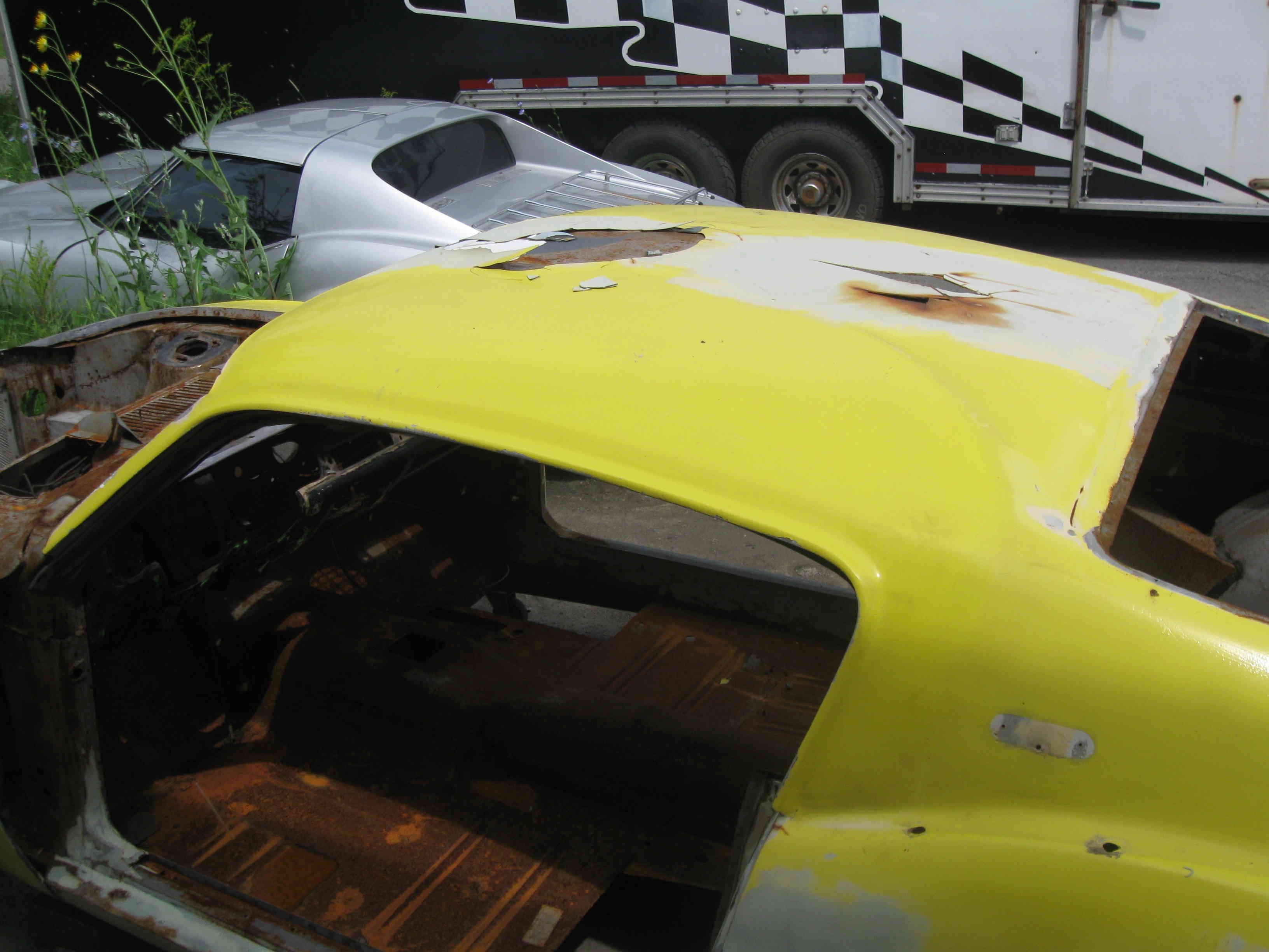 La Mustang 1967 modifié par Xavier Miron de Montréal St-cal10