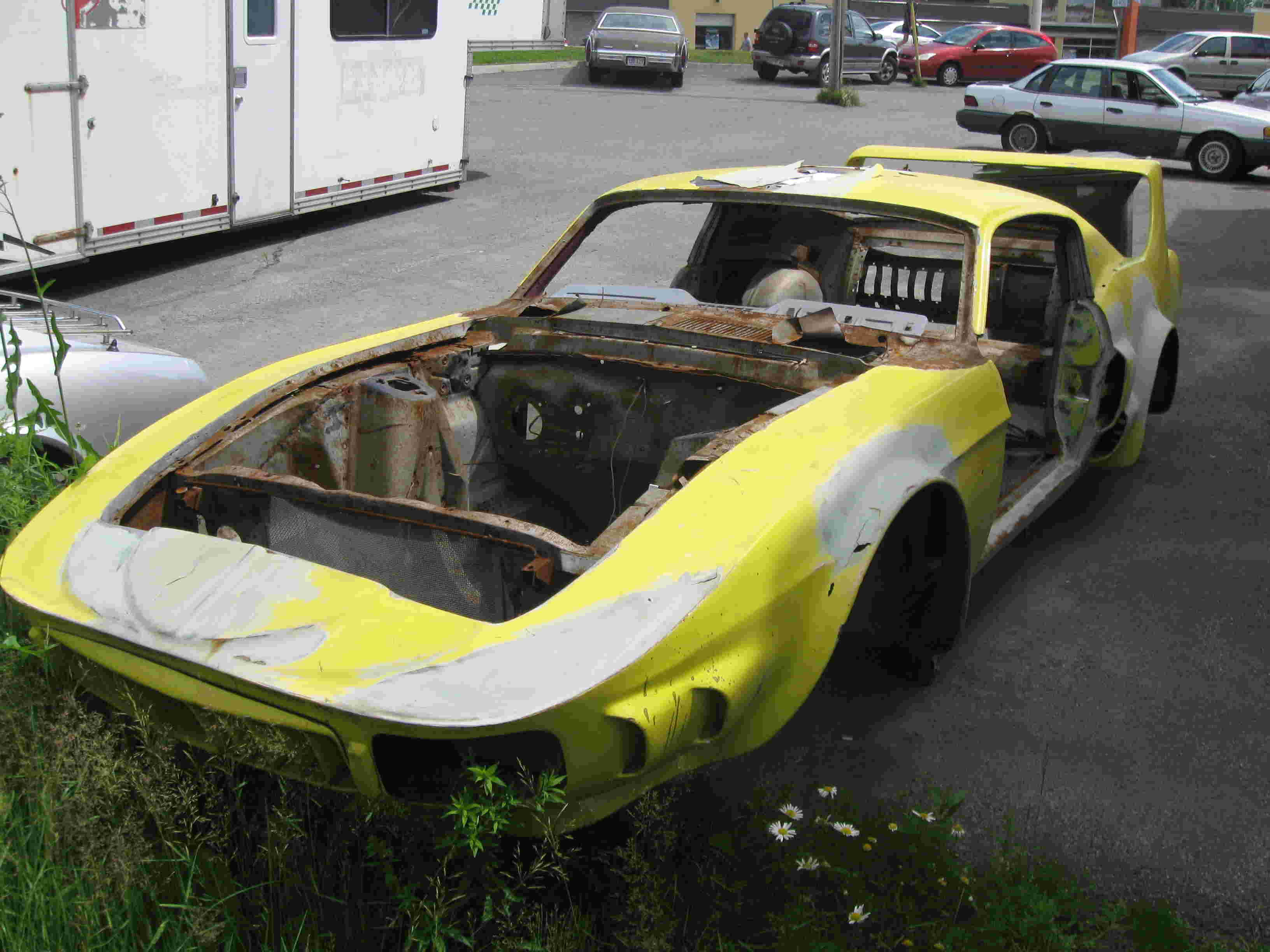 La Mustang 1967 modifié par Xavier Miron de Montréal St-cal14