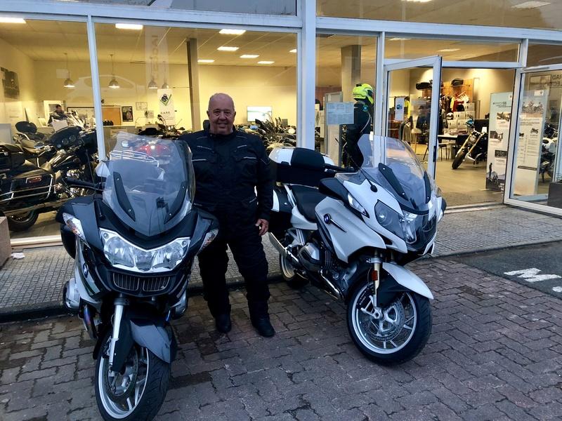 Au revoir ma belle moto et bienvenue à la nouvelle Fullsi14