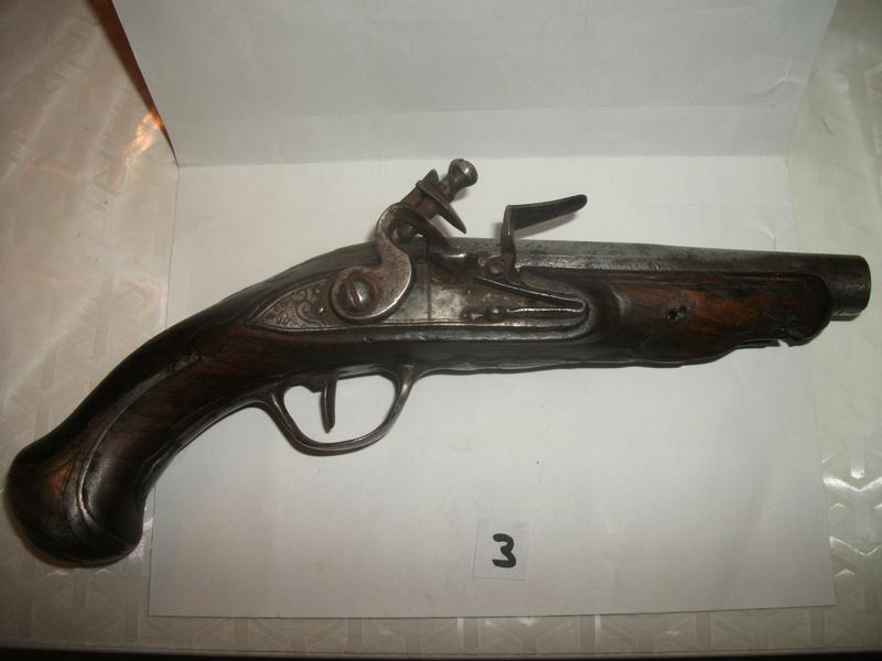 Pistolet silex 09711