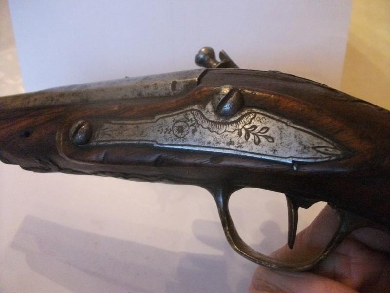 Pistolet silex 10810
