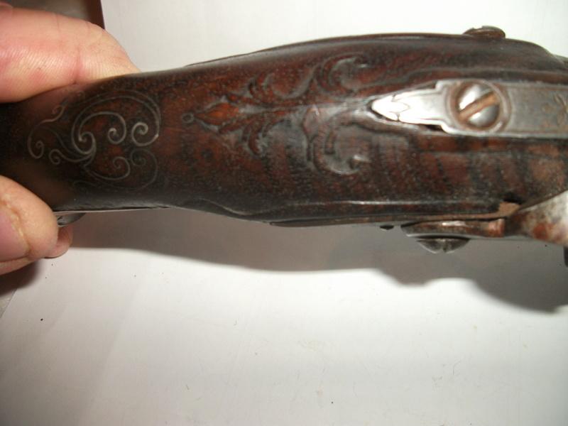 Pistolet silex 11410