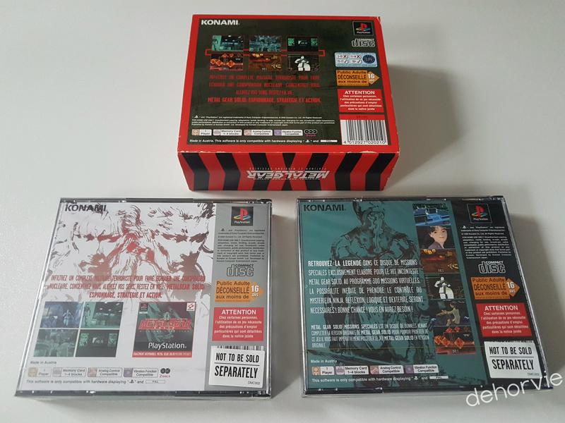 Metal Gear Solid Missions Spéciales Édition Limitée PS1 210