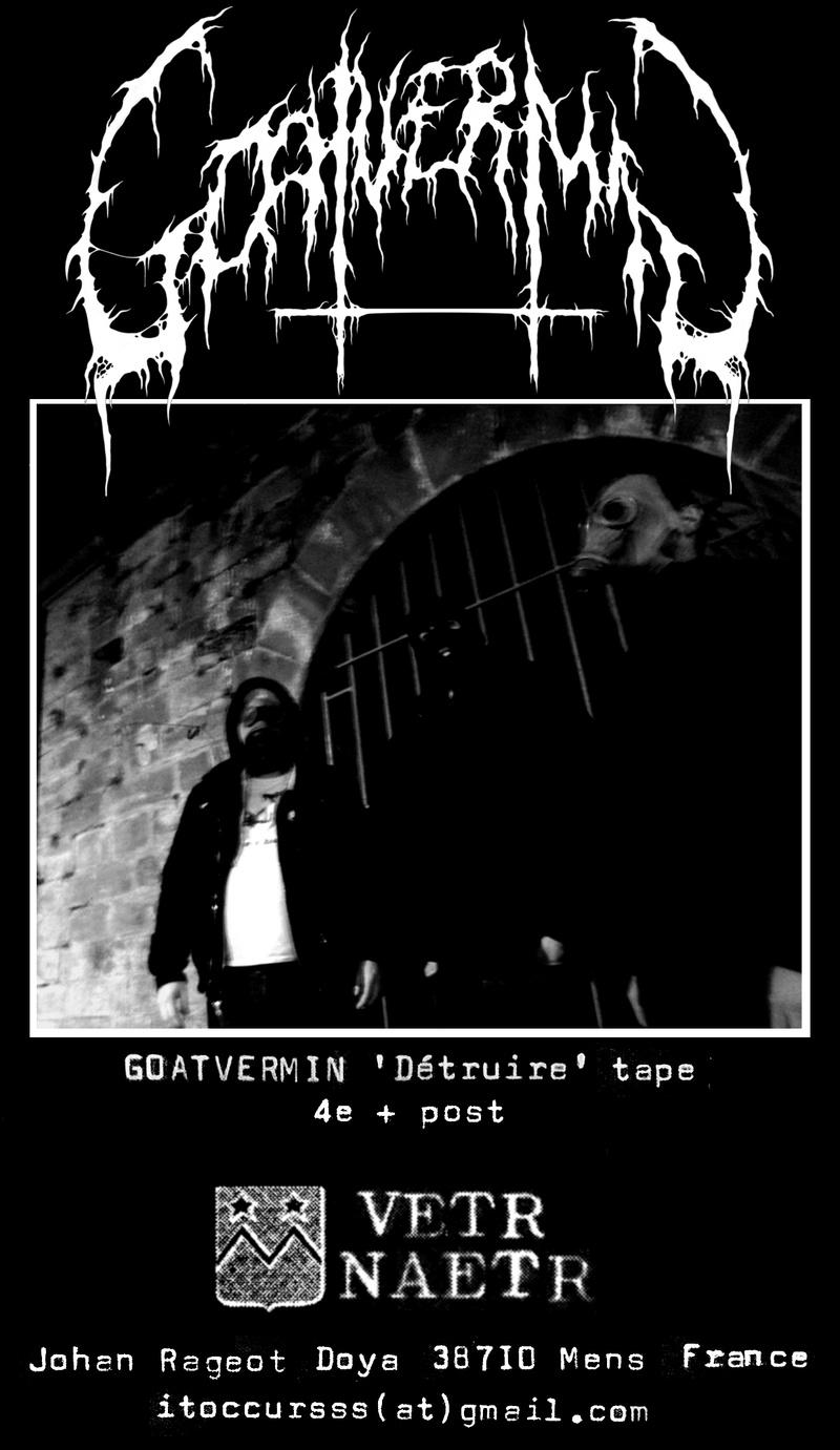 GOATVERMIN 'Détruire' cassette Flygoa11