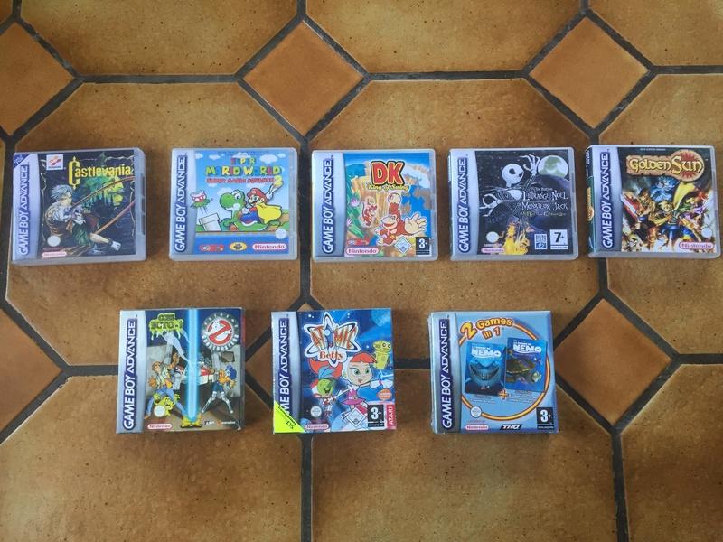 [Estimation] Jeux Gameboy Advance et Gameboy Color (Sous blister, custom)  28460010