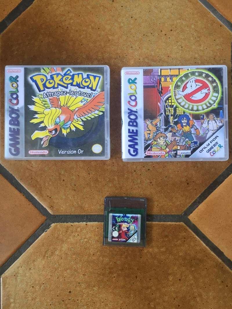 [Estimation] Jeux Gameboy Advance et Gameboy Color (Sous blister, custom)  28460111