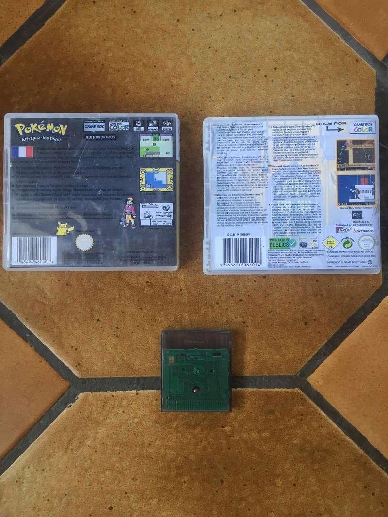 [Estimation] Jeux Gameboy Advance et Gameboy Color (Sous blister, custom)  28460510
