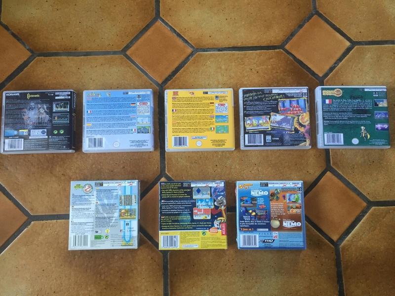 [Estimation] Jeux Gameboy Advance et Gameboy Color (Sous blister, custom)  28547810