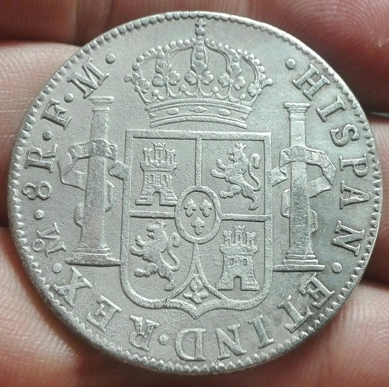 8 reales 1787 México ¿Falsa? 213