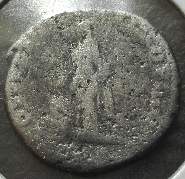 Denario de Trajano. COS V P P S P Q R OPTIMO PRINC / PIET. Pietas estante a izq. Roma. Img_2015