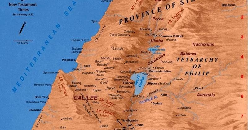 Nazareth  existait  il à l'époque de JC - Page 6 Gamala12