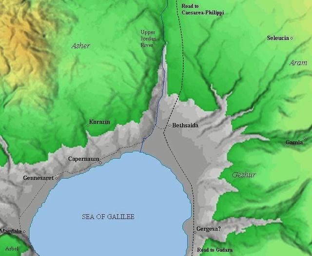 Nazareth  existait  il à l'époque de JC - Page 6 Gamala14