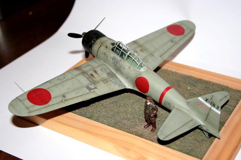 "Mitsubishi A6M Type 21 ""Zero"" (Tamiya - 1/48) - Page 4 Img_4612"