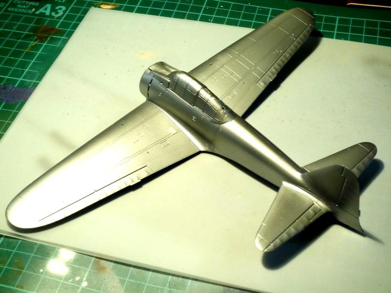 """Mitsubishi A6M Type 21 """"Zero"""" (Tamiya - 1/48) - Page 2 P1100525"""
