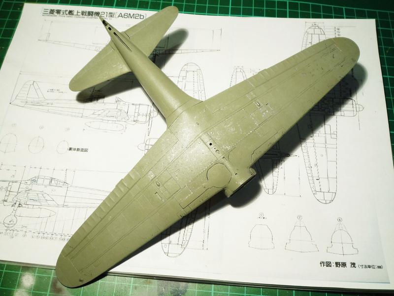"""Mitsubishi A6M Type 21 """"Zero"""" (Tamiya - 1/48) - Page 2 P1100613"""