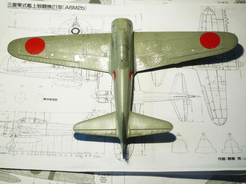 """Mitsubishi A6M Type 21 """"Zero"""" (Tamiya - 1/48) - Page 2 P1100614"""