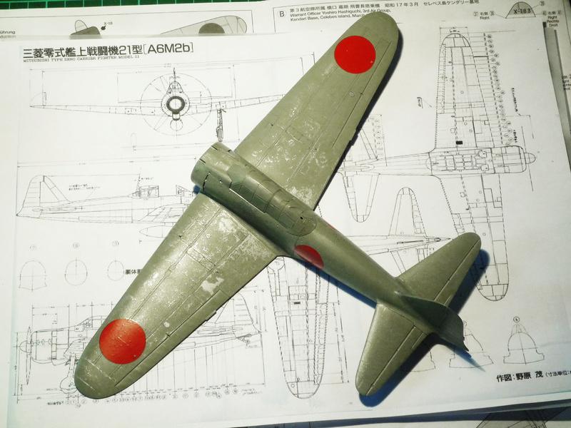"""Mitsubishi A6M Type 21 """"Zero"""" (Tamiya - 1/48) - Page 2 P1100615"""