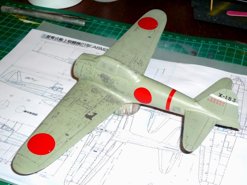 """Mitsubishi A6M Type 21 """"Zero"""" (Tamiya - 1/48) - Page 2 P1100618"""