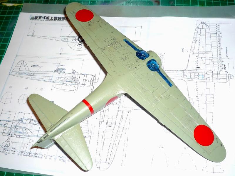 """Mitsubishi A6M Type 21 """"Zero"""" (Tamiya - 1/48) - Page 2 P1100620"""