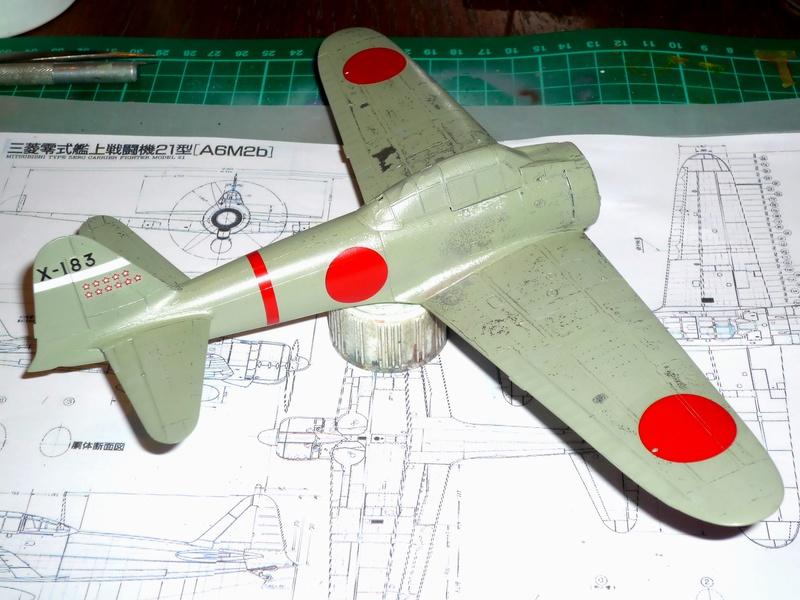 """Mitsubishi A6M Type 21 """"Zero"""" (Tamiya - 1/48) - Page 2 P1100621"""