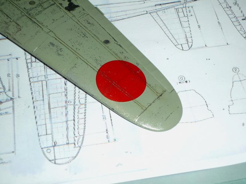 """Mitsubishi A6M Type 21 """"Zero"""" (Tamiya - 1/48) - Page 2 P1100622"""