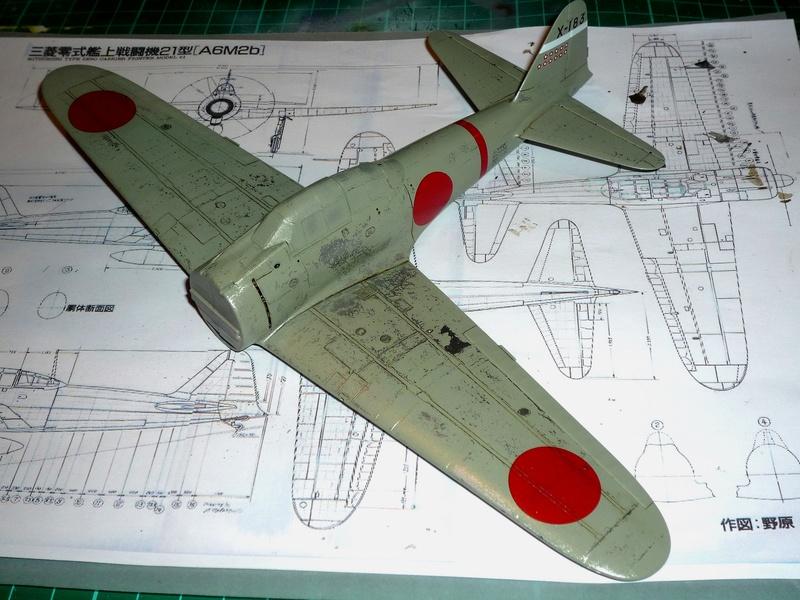 """Mitsubishi A6M Type 21 """"Zero"""" (Tamiya - 1/48) - Page 2 P1100623"""