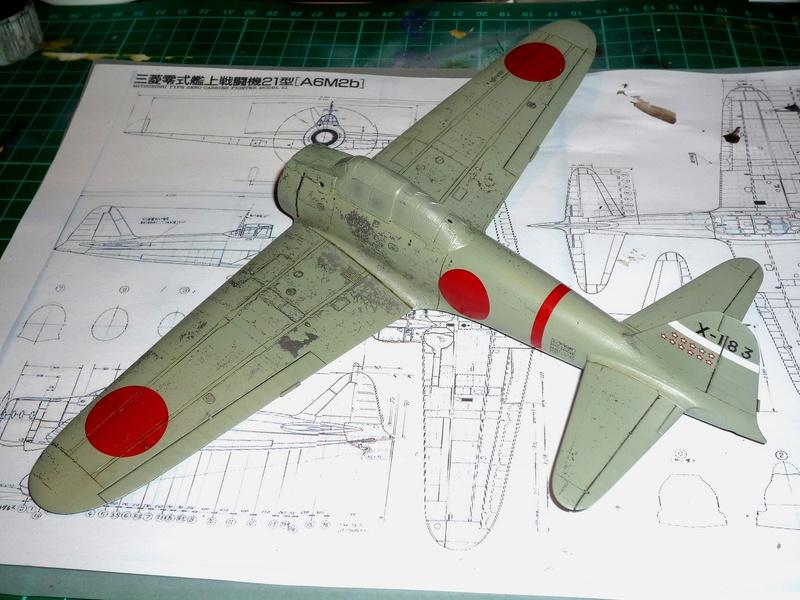 """Mitsubishi A6M Type 21 """"Zero"""" (Tamiya - 1/48) - Page 2 P1100624"""