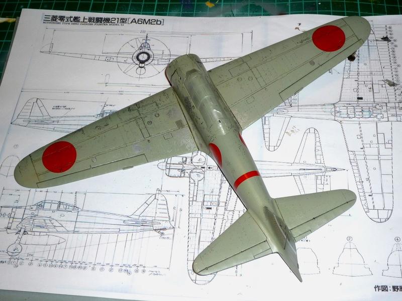 """Mitsubishi A6M Type 21 """"Zero"""" (Tamiya - 1/48) - Page 2 P1100625"""