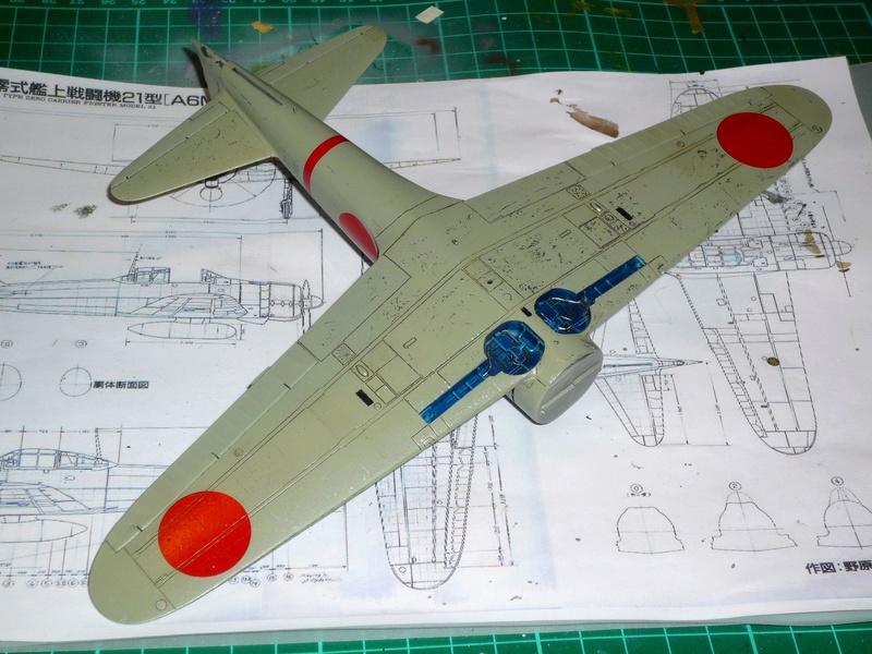 """Mitsubishi A6M Type 21 """"Zero"""" (Tamiya - 1/48) - Page 2 P1100626"""