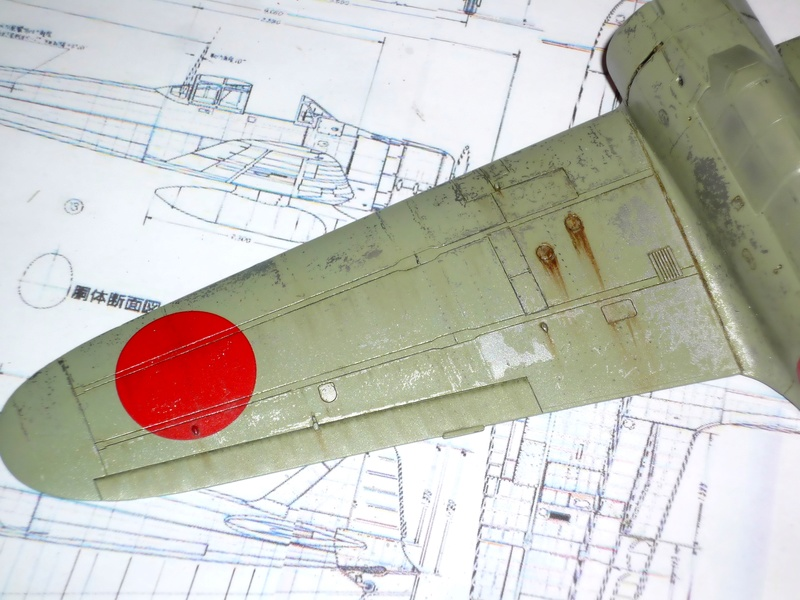 """Mitsubishi A6M Type 21 """"Zero"""" (Tamiya - 1/48) - Page 2 P1100627"""
