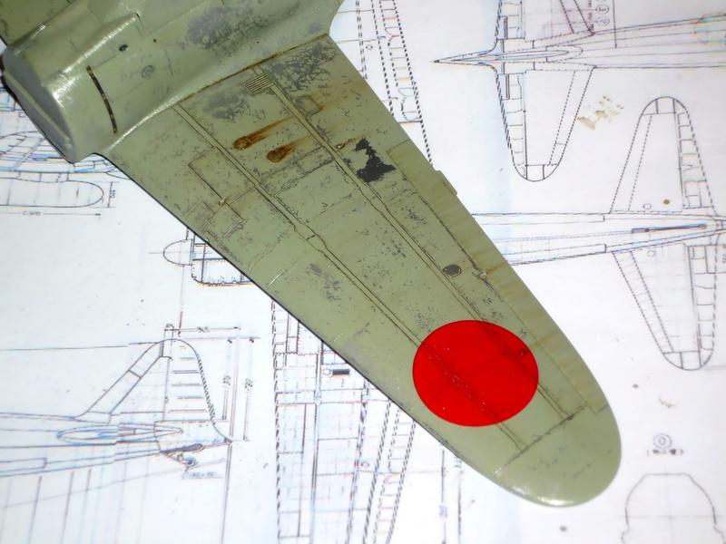"""Mitsubishi A6M Type 21 """"Zero"""" (Tamiya - 1/48) - Page 2 P1100628"""