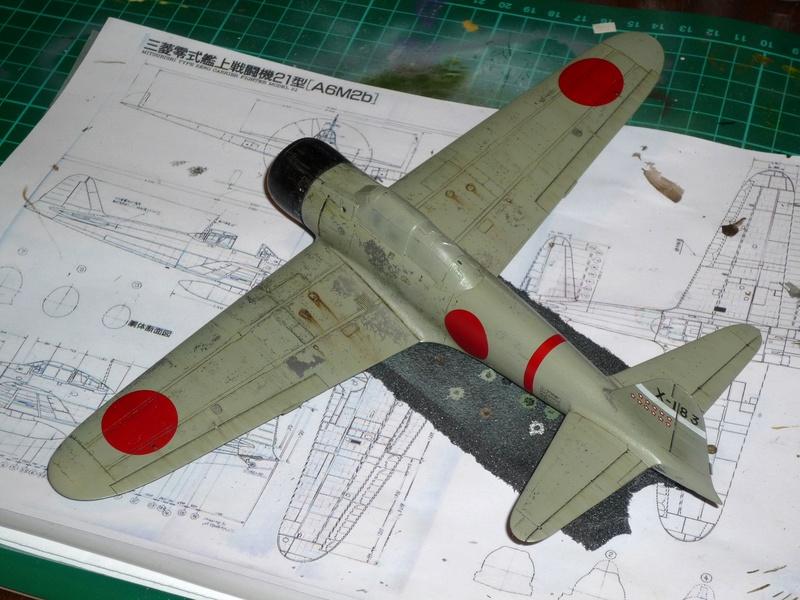"""Mitsubishi A6M Type 21 """"Zero"""" (Tamiya - 1/48) - Page 3 P1100629"""