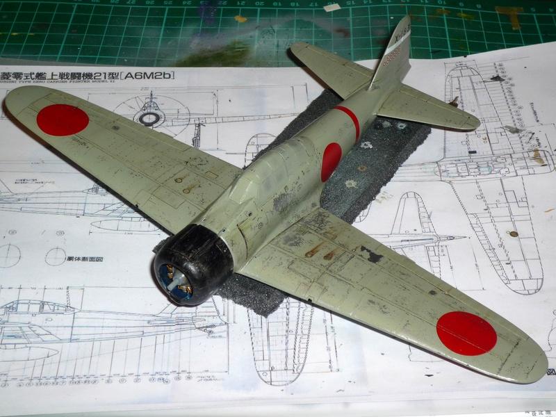 """Mitsubishi A6M Type 21 """"Zero"""" (Tamiya - 1/48) - Page 3 P1100630"""
